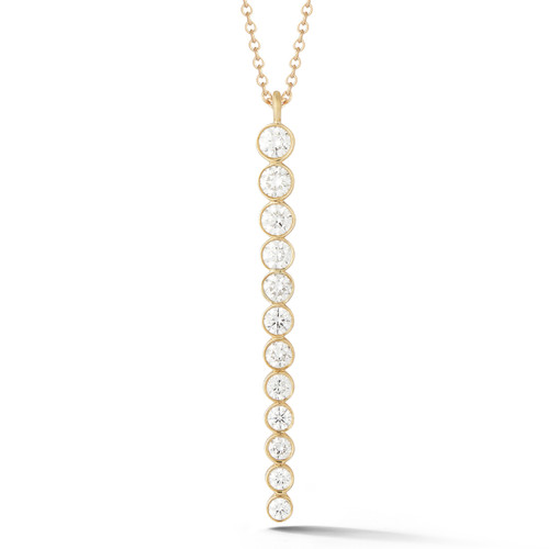 Moderne Diamond Needle Pendant