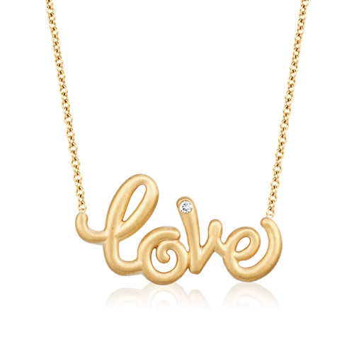 Whirl Love Necklace