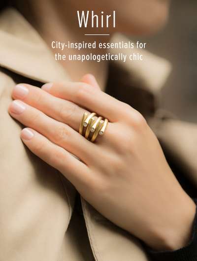 Whirl; City inspired essentials for the unapologetically chic