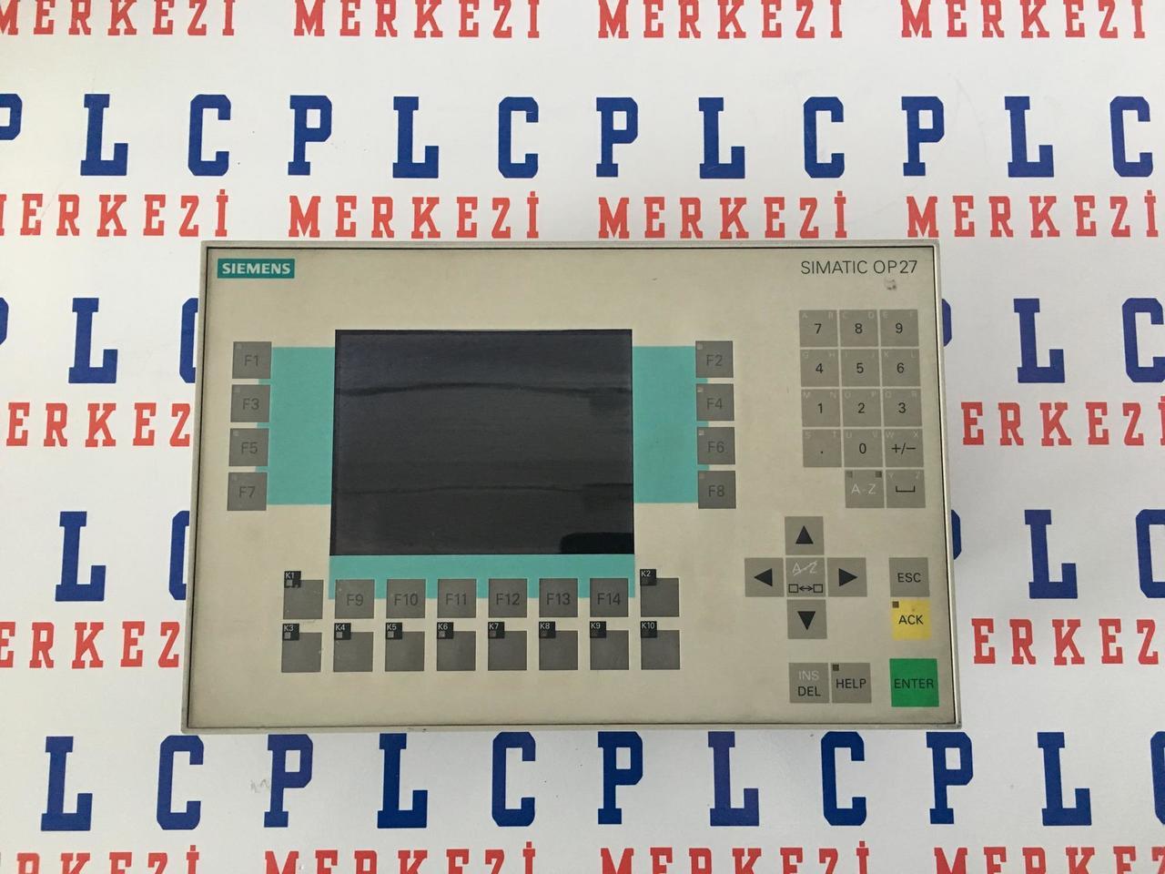 6AV3 627-1JK00-0AX0,6AV3627-1JK00-0AX0 Siemens OP27 Operator panel