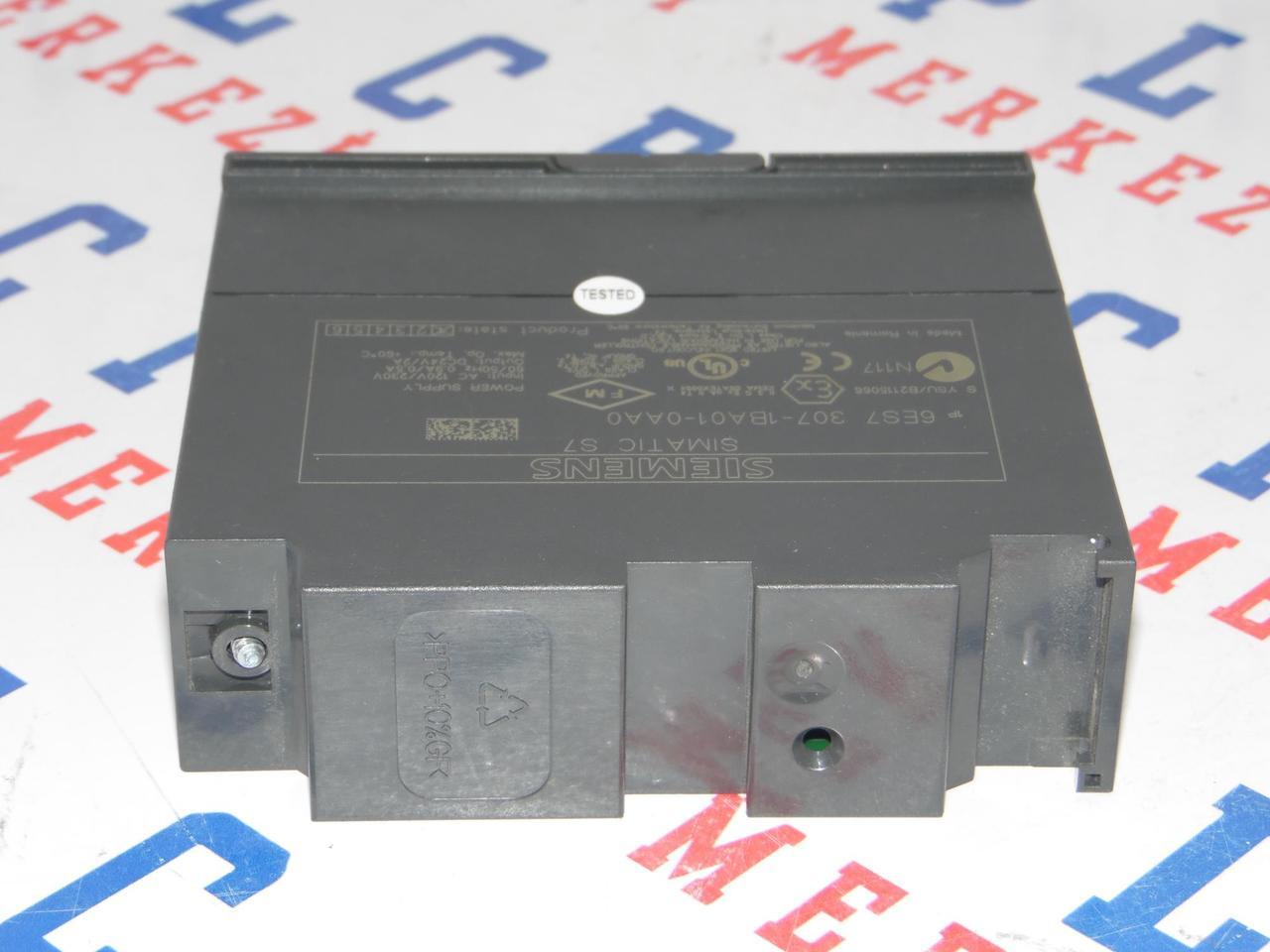 Siemens Simatic S7 Power Supply 6ES7307-1EA00-0AA0 6ES7 307-1EA00-0AA0 E:04