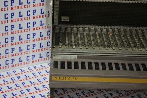 6ES5 183-3UA12,6ES5183-3UA12 SIMATIC S5 183U RACK