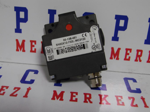 SN02X12-732L-MC2122,SN02X12 732L MC2122 EUCHNER SWITCH 24 V DC CLASS 2