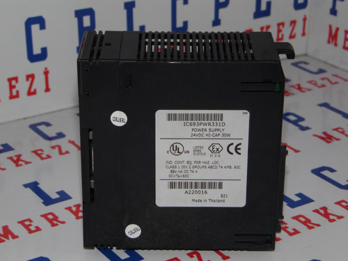 IC693PWR331D GE-FANUC Power supply