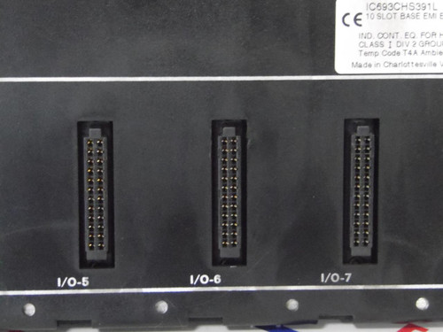 IC693CHS391L GE-FANUC Programmable Controller Base