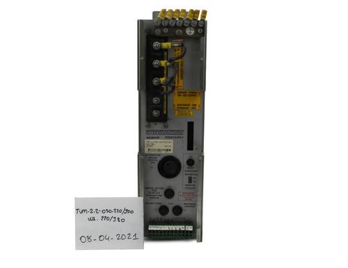 TVM2.2-050-220-300-W1-220-380,TVM2.2-050-220/300-W1-220/380 Indramat AC Servo Module