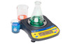 A&D Weighing Newton EJ-120 shown with beakers