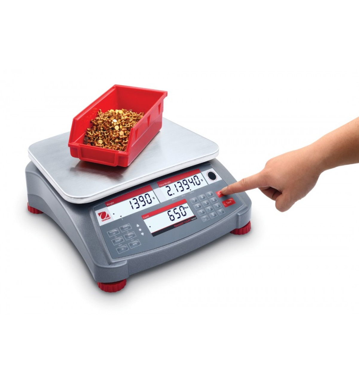 OHAUS RC41M30 Ranger Count 4000 Counting Scale, 60 lb x  002 lb, NTEP