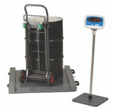 Brecknell DS-1000 Drum Scale Package, 1000 lb x 0.5 lb (with stand, not included)