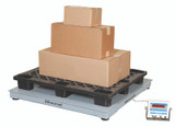 Brecknell DSB6060-10 Floor Scale Package with Boxes