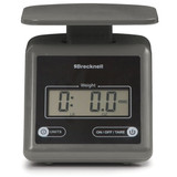 Brecknell PS7 Portable Postal Scale, 7.24 lb x 0.002 lb (Front View)