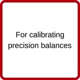 Rice Lake OIML Class F2 Calibration Weights