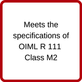 Rice Lake ASTM Class 6 Calibration Weights