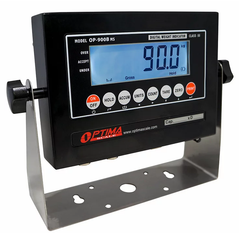 Used Optima Scale OP-900-02 LCD Indicator with Internal Battery, NTEP