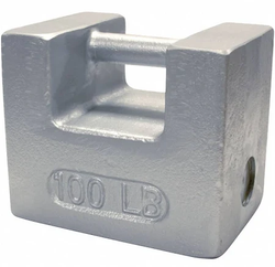 Rice Lake 100 lb Cast Iron Weight, ASTM Class 6 (12862)