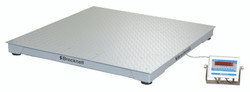 Brecknell DSB3636-02.5 Floor Scale Package