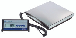 Cardinal Detecto DR550C Stainless Steel Low Profile Bench Scale, 500 lb x 0.5 lb