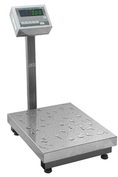 Torbal BAH60 Hermetically Sealed Washdown Bench Scale, 150 lbs x 0.05 lbs