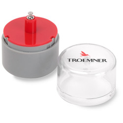 Troemner 2 g Precision Alloy Cylindrical Weight, NVLAP Accredited Certificate, ASTM Class 1