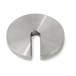 Troemner 50 g Stainless Steel Slotted Weight