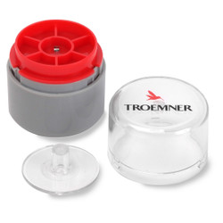 Troemner 5 mg Stainless Steel Flat Weight, NVLAP Accredited Certificate, UltraClass