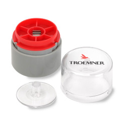 Troemner 300 mg Stainless Steel Flat Weight, NVLAP Accredited Certificate, UltraClass