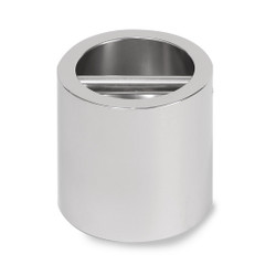 Troemner 16 kg Stainless Steel Cylindrical Weight, NVLAP Accredited Certificate, UltraClass