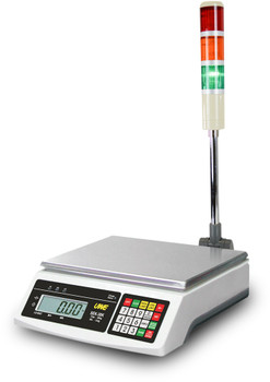 UWE SEK-12K Checkweighing Scale with Light Tower