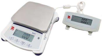 OHAUS SJX1502N/E Scout Balance with AD7-MD Remote Display