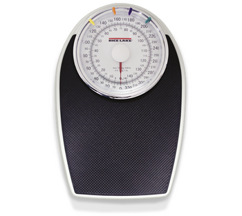 Rice Lake RL-330HHD Home Health Dial Scale, 330 lb x 1 lb / 150 x 0.5 kg