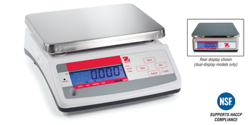 OHAUS Valor Bench Scale Dual Display