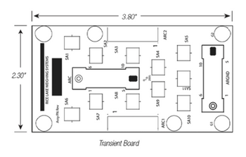 Rice Lake Transient Protection Board