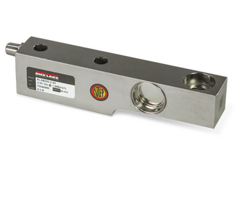Rice Lake RLSB250T-5K 5000 lb Threaded Stainless Steel Single Ended Beam Load Cell