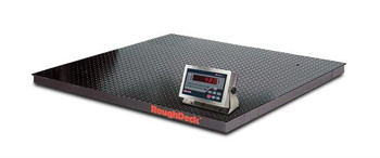 Rice Lake Rough-n-Ready 4' x 4' 5k Floor Scale with 480 Plus Legend Indicator