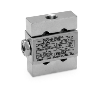 HBM S35-100 lb Stainless Steel S-Beam Load Cell, NTEP
