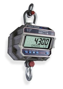 MSI-4300 5K Port-A-Weigh Plus Crane Scale 5000 lb x 1 lb