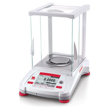 ohaus ax124/e adventurer balance excal