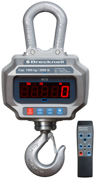 Brecknell BCS-2K Crane Scale with Remote