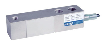 Zemic H8C-N5-2.5K-6YB 2500 lb Single Ended Beam Load Cell, NTEP
