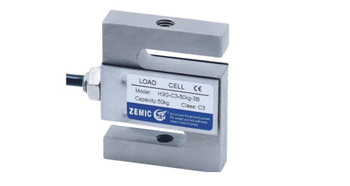 Zemic H3G-N3-2K-6YB 2000 lb S-Beam Load Cell, NTEP