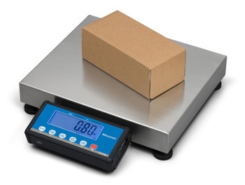Brecknell PS-USB 30 lb Portable Shipping Scale, 30 lb x 0.01 lb, NTEP (816965006540)