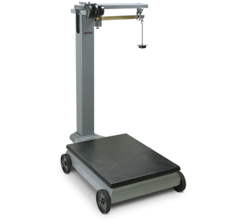 Rice Lake RL1200 Portable Mechanical Beam Scale, 1000 lb x 0.5 lb, NTEP (157982)