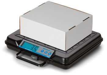 Brecknell GP100 USB Bench Scale (in use)