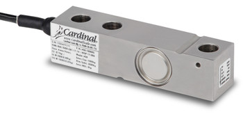 Cardinal Detecto HSB-1000KG 1000 kg Stainless Steel Single Ended Beam Load Cell, NTEP