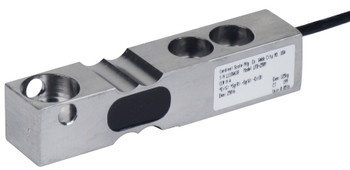 Cardinal Detecto LFB-500HMT 500 lb Stainless Steel Single Ended Beam Load Cell