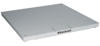 "Brecknell DSB4848-05 Floor Scale, 48"" x 48"", 5000 lb x 1 lb, NTEP"