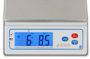 Cardinal Detecto PS7 Food Portioning Scale