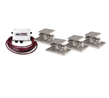 Rice Lake EZ Mount 1 SS Stainless Steel Weigh Modules (4) 10,000 lb Module Kit, NTEP