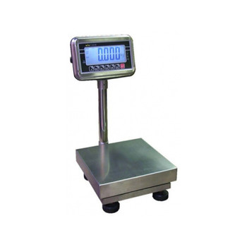 T-Scale BWS 50 Washdown Bench Scale, 50 lb x 0.01 lb, NTEP, Class III