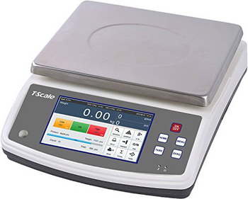 T-Scale Q7-20 6 lb Touchscreen Counting Scale, 6 lb x 0.0002 lb (Q7-20-6)